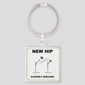 New Hip Square Keychain
