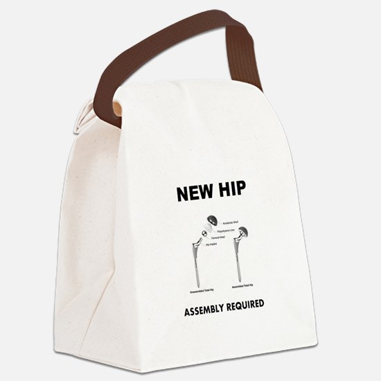 New Hip Canvas Lunch Bag