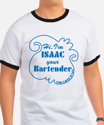 Love Boat Isaac Your Bartender T-Shirt