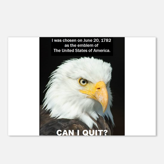 American Eagle wants to Quit Postcards (Package of