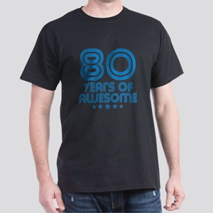 80 Years Of Awesome 80th Birthday T-Shirt