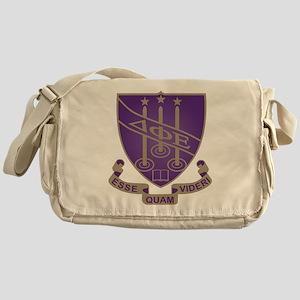 Delta Phi Epsilon Crest Messenger Bag