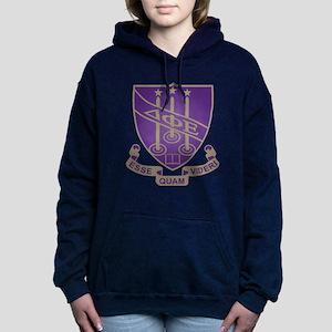 Delta Phi Epsilon Crest Women's Hooded Sweatshirt