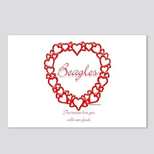 Beagle True Postcards (Package of 8)
