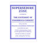 Supersedure Zone Postcards (Package of 8)