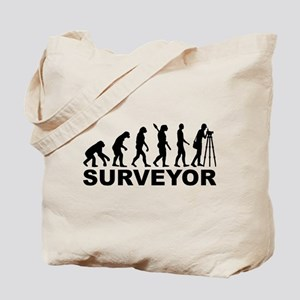 Evolution surveyor Tote Bag