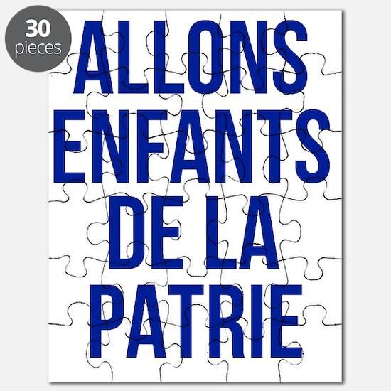 Cute France Puzzle