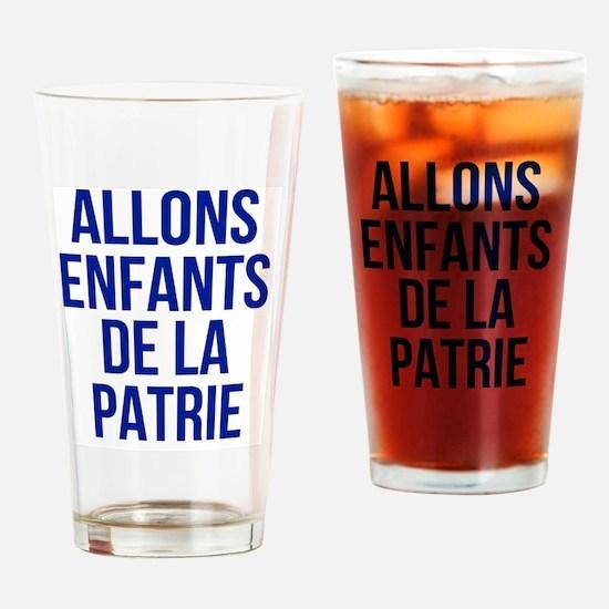 Cute Bastille day Drinking Glass