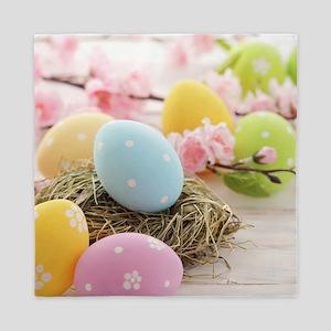 Easter Eggs Queen Duvet