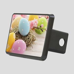 Easter Eggs Rectangular Hitch Cover
