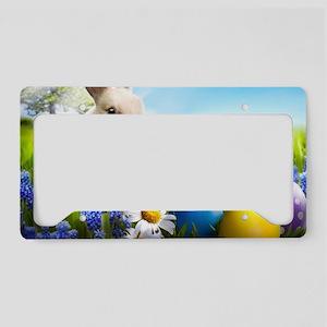 Easter Bunny License Plate Holder