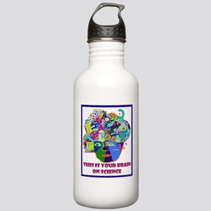 THIS IS YOUR BRAIN ON SCIENCE Water Bottle