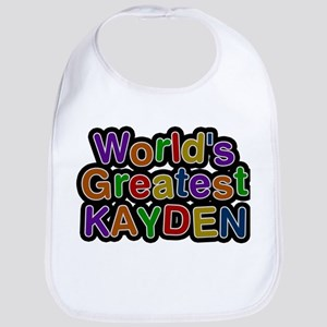Worlds Greatest Kayden Baby Bib