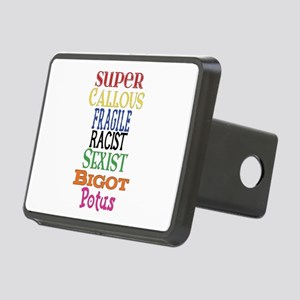 Super Callous Fragile Raci Rectangular Hitch Cover