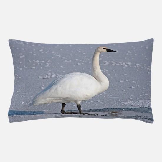 Cute Swans Pillow Case