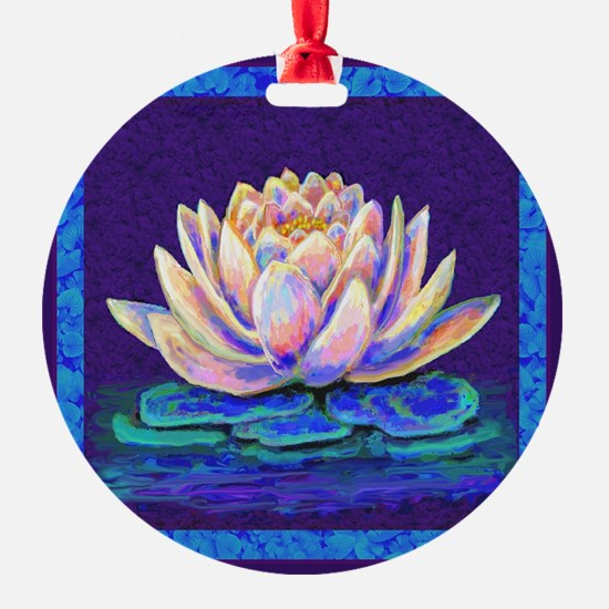 LOTUS BLOSSOM Ornament