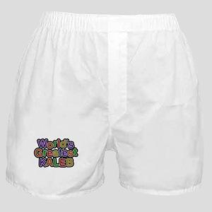 Worlds Greatest Kaleb Boxer Shorts