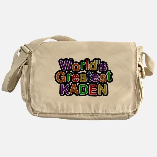 Worlds Greatest Kaden Messenger Bag