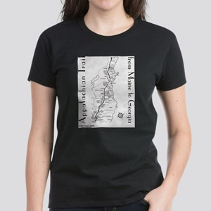 Appalachian Trail Map T-Shirt