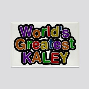 World's Greatest Kaley Rectangle Magnet