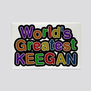 World's Greatest Keegan Rectangle Magnet