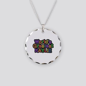 World's Greatest Kaylie Necklace Circle Charm