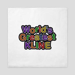 World's Greatest Kline Queen Duvet