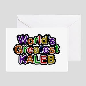 World's Greatest Kaleb Greeting Card