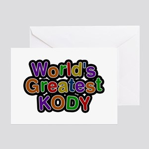 World's Greatest Kody Greeting Card