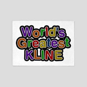 World's Greatest Kline 5'x7' Area Rug