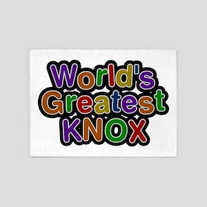 World's Greatest Knox 5'x7' Area Rug