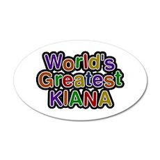 World's Greatest Kiana Wall Decal