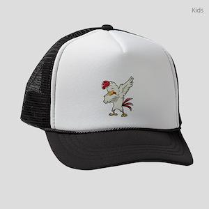 Dabbing Chicken Kids Trucker hat