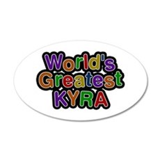World's Greatest Kyra Wall Decal