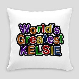 World's Greatest Kelsie Everyday Pillow