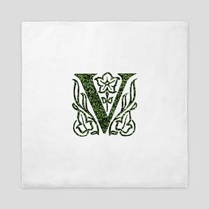 Ivy Monogram V - Queen Duvet