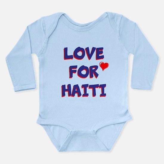 Love For Haiti Body Suit