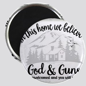 God & Guns Magnets