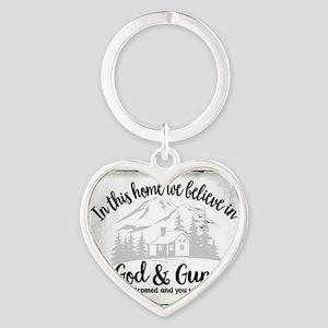 God & Guns Keychains