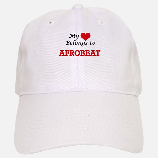 My heart belongs to Afrobeat Baseball Baseball Cap