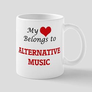 My heart belongs to Alternative Music Mugs