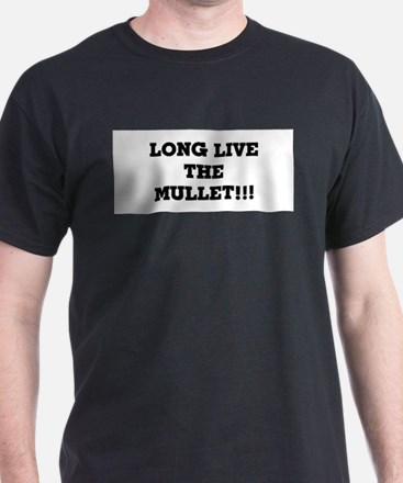 Long Live the Mullet!!! Ash Grey T-Shirt