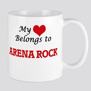 My heart belongs to Arena Rock Mugs