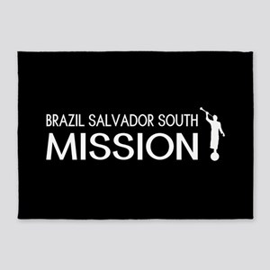 Brazil, Salvador South Mission (Mor 5'x7'Area Rug