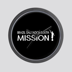 Brazil, Salvador South Mission (Moroni) Wall Clock