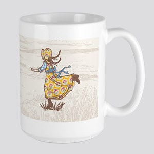 Laura Ingalls Large Mugs