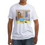 Fish Ordering Pizza Delivery Fitted T-Shirt