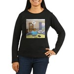 Fish Ordering Piz Women's Long Sleeve Dark T-Shirt