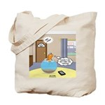 Fish Ordering Pizza Delivery Tote Bag