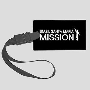 Brazil, Santa Maria Mission (Mor Large Luggage Tag